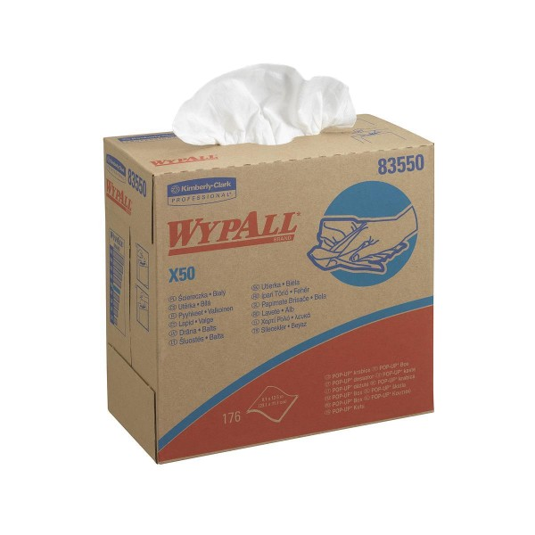 Wypall® X50 Wischtücher - Zupfbox
