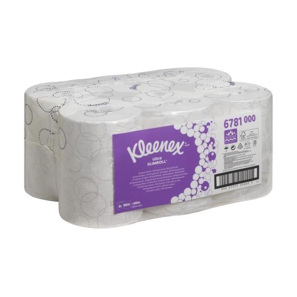 Kleenex® 6781 Ultra Slimroll Rollenhandtücher, mit Markenprägung, geschütztes System