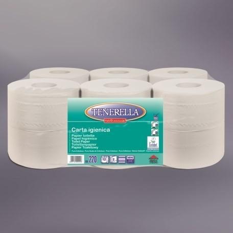 AlpineX® Mini Jumbo Toilettenpapier 2-lg 180m