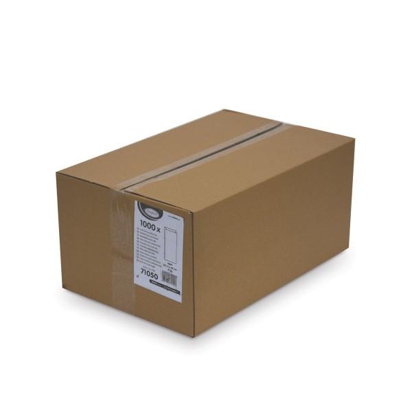 Papier Faltenbeutel weiß 5 kg (20+7 x 45 cm) [1000 Stück]