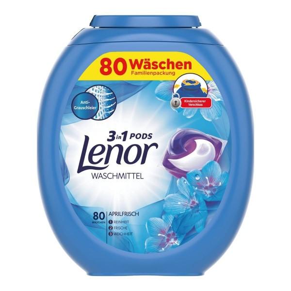 Lenor Waschmittel 3in1 Pods - 80 Stück pro Box