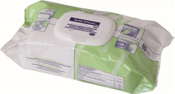 Hartmann Bacillol® 30 Tissues Desinfektionstücher im Flowpack