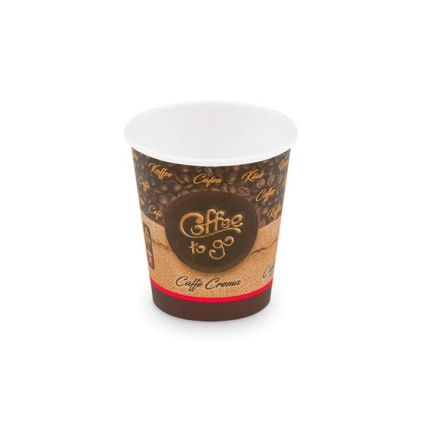 BIO Einweg-Kaffeebecher Coffee to go 200ml - 50 Stück