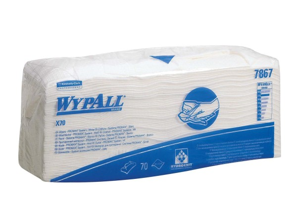 Wypall® X70 Wischtücher - PROMAN® interfold - Palettenangebot