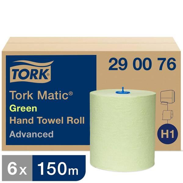 TORK 290076 Matic® grünes Rollenhandtuch Advanced Grün - H1