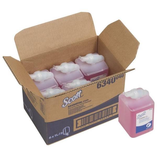 6x SCOTT® 6340 ESSENTIAL Schaumseife 1 Karton