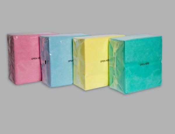 AlpineX® Viscosevliestuch in Dispenserbag 8 x 50 Tücher im Karton