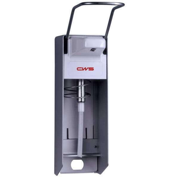 CWS Desinfektionsmittelspender Aluminium - für 1000ml Euroflaschen