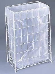AlpineX® Gitterkorb Papierkorb 60 Liter weiss