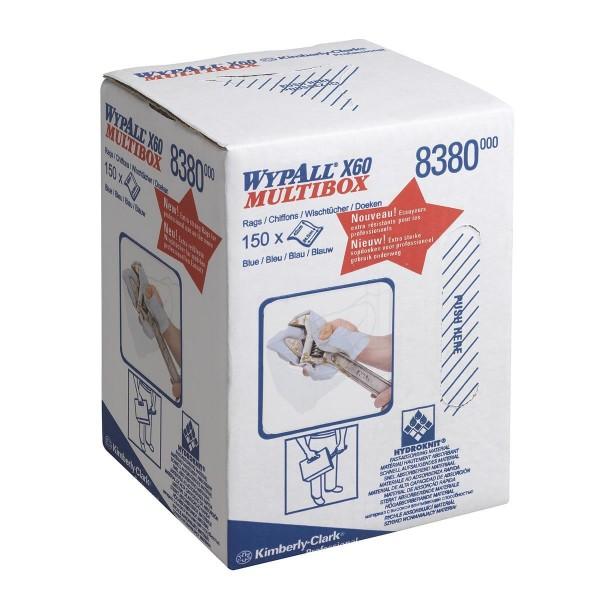 Wypall® X60 Wischtücher - Multibox Zentralentnahme