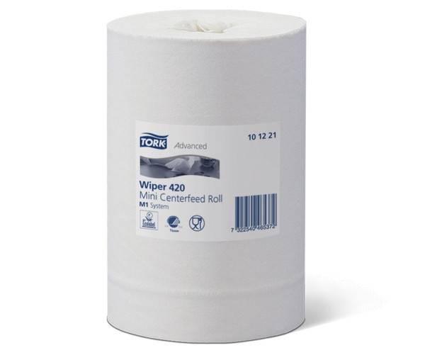 TORK 101221 starke Papierwischtücher Weiß - M1