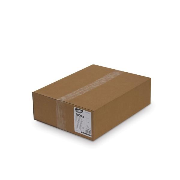Papier Faltenbeutel weiß 1 kg (12+5 x 24 cm) [1000 Stück]