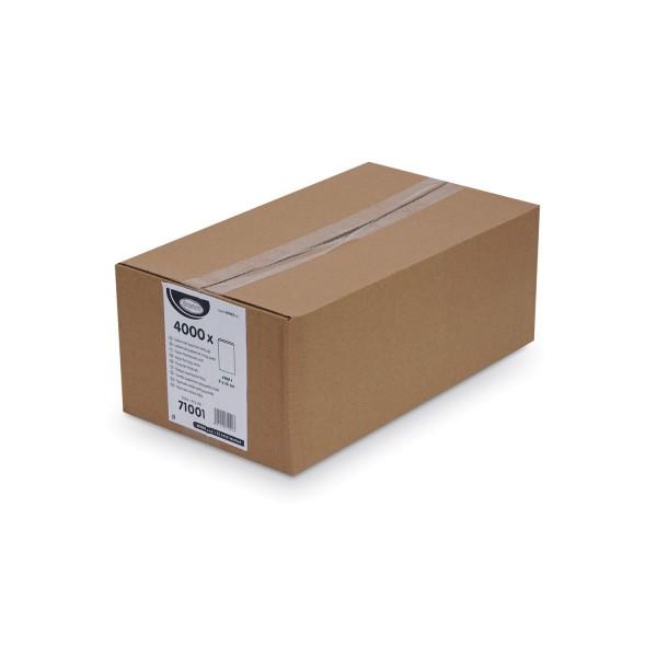 Papier Flachbeutel weiß 9 x 14 cm [4000 Stück]