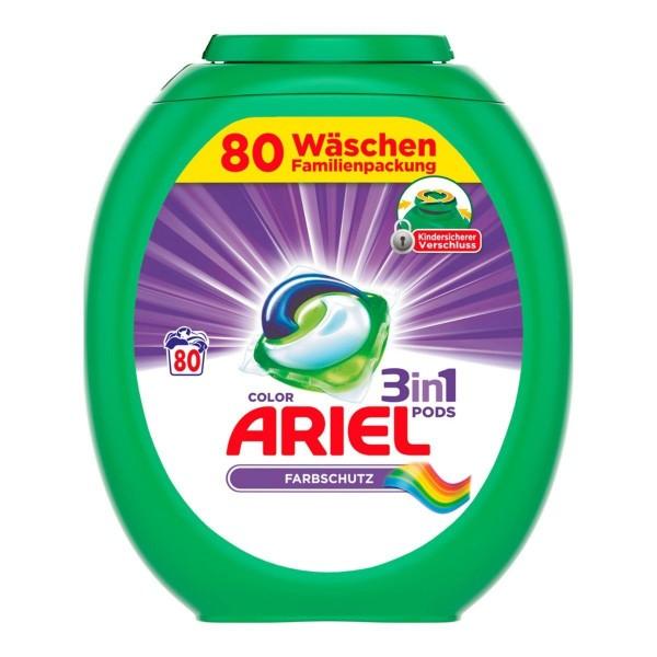 Ariel Color Waschmittel 3in1 Pods - 80 Stück pro Box