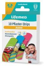 """Lifemed Kinder-Pflaster-Strips """"Autos"""", 10er - 99550"""