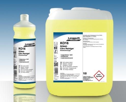 KO16 4CLEAN Allzweck Reiniger Citro 10 Liter