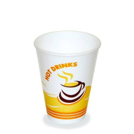 Thermobecher Hot Drinks -260ml 50 Stück