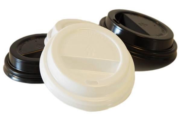 Domdeckel für Kaffeebecher to-go mit Trinkloch