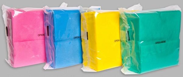 AlpineX® langlebige farbige Reinigungstücher