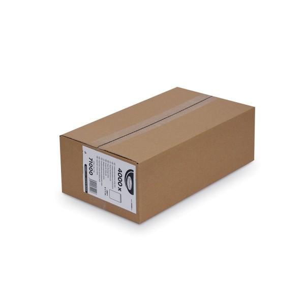 Papier Flachbeutel weiß 8 x 11 cm [4000 Stück]