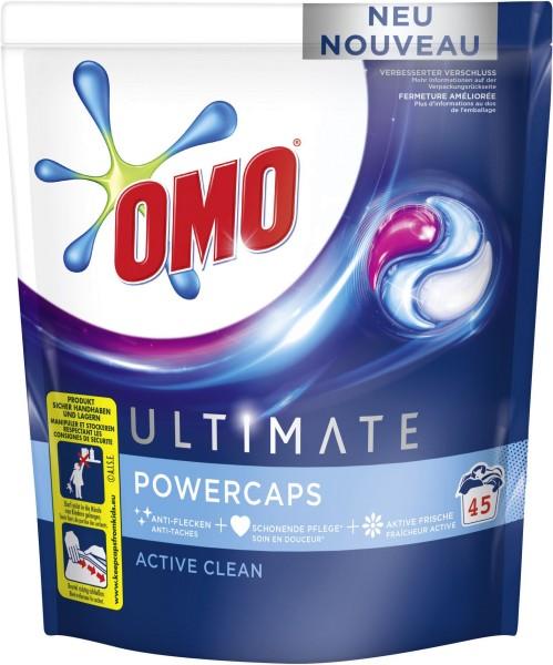 OMO Power Caps Active Clean 45 Stück