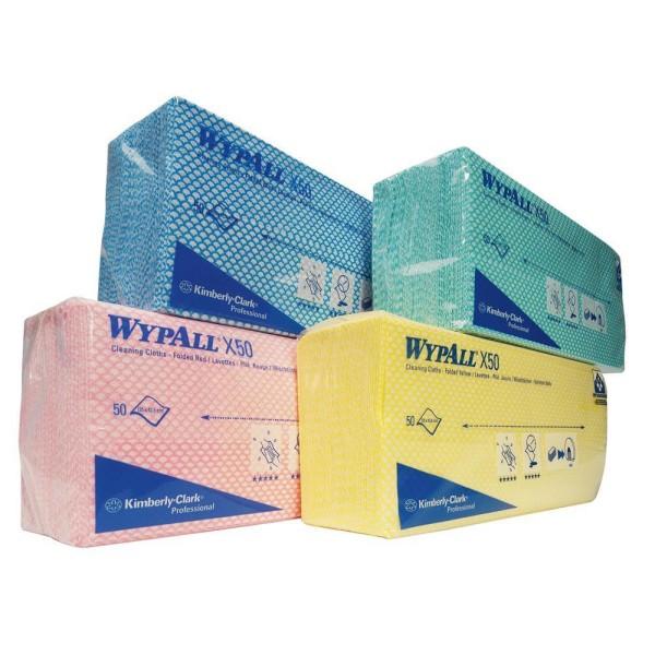Wypall® X50 Wischtücher - Interfold