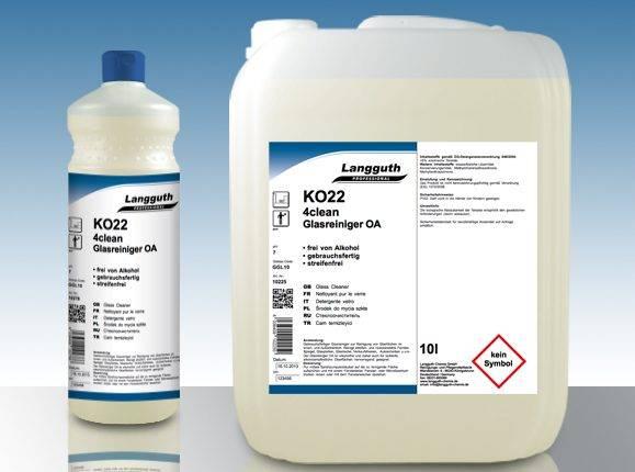 KO22 4CLEAN GLASREINIGER gebrauchsfertiger Glasreiniger