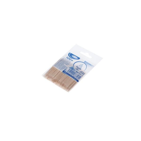 Holz-Zahnstocher Ø 2 x 65 mm [100 Stück]