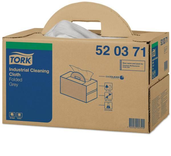 TORK 520371 Industrie Reinigungstücher Grau - W7