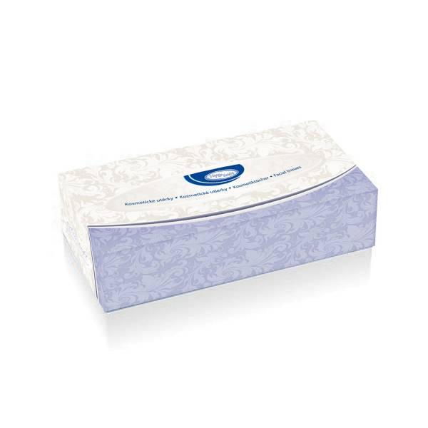 Kosmetiktücher 2-lagig in Spenderbox [150 Stück]